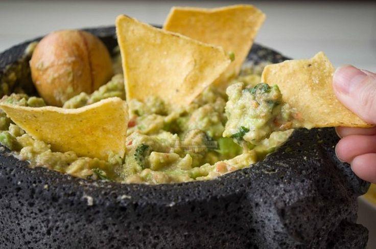 Bachas Para Baño Mexicanas:Cómo preparar guacamole al estilo mexicano casero ¡No te pierdas la