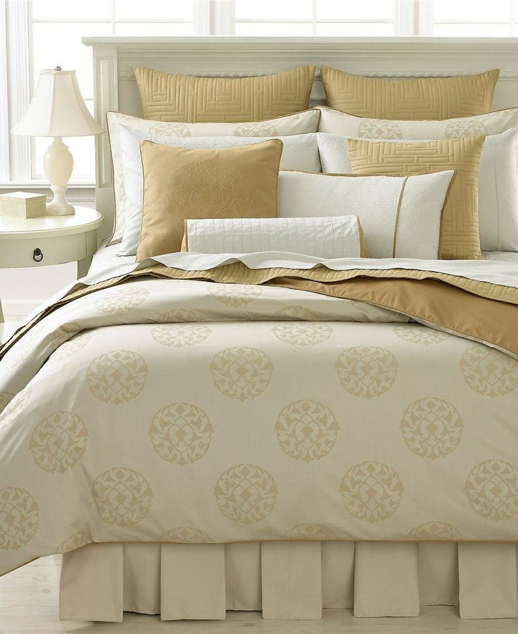 barbara barry floating lotus king duvet cover u0026 euro shams set - Barbara Barry Bedding