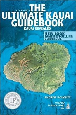 Ultimate Kauai Guidebook: Kauai Revealed- This book was recommended to me by a friend and it was our life-line to the island.  My husband planned our entire trip from this book.  We took it with us while on the island to find little stops for lunch and points to check out.  We found all descriptions from restaurants, to spa treatments, to activities to be accurate and honest. If you are traveling to Kauai, order this book now!!!