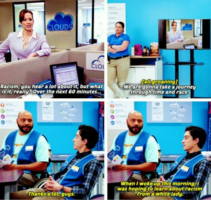 Superstore - much like the speeches at my college graduation