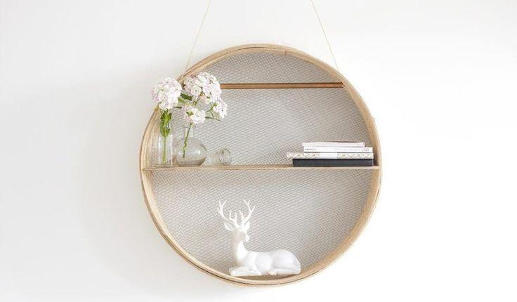 DIY Circular Shelf - La Délicate Parenthèse