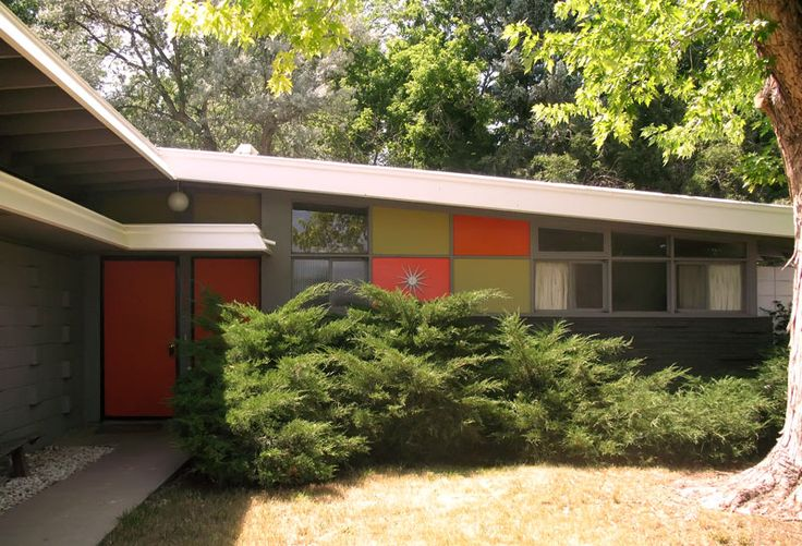 Great site if you love mid century modern houses for Mid century modern homes denver