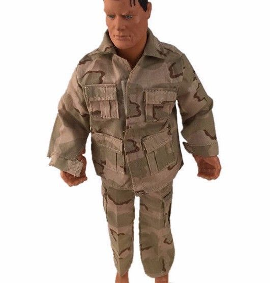New out of Box MILITARY CAMO HUNTING Clothes Set for Ken Doll Accessory Lot 2pc #Custom