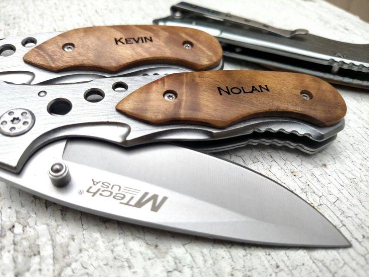 Boyfriend Gift, Pocket Knife, Brother of the Bride, Engraved Knife, Father of the Bride, Groomsmen Knives, Custom Knife, Best Man Gift