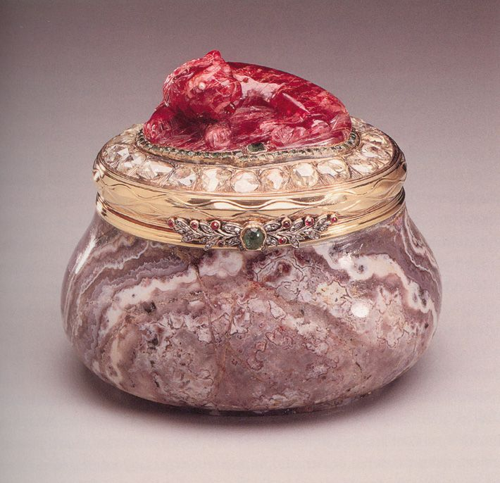 Faberge box belonging to the Youssoupoff's