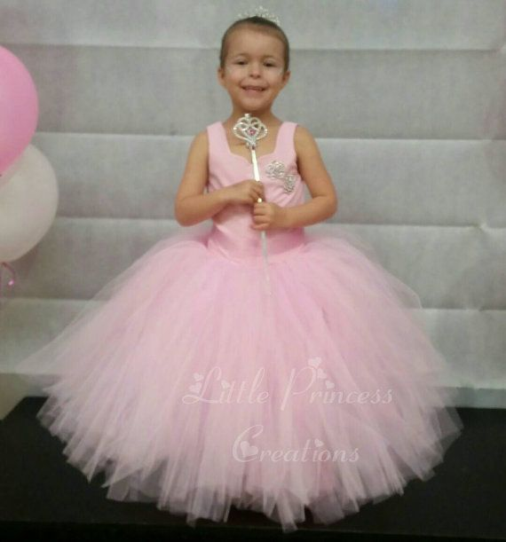 Princess dress  Flowergirl Dress  Party by PrincessCreationsAU
