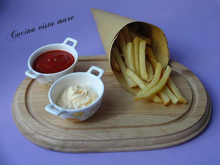 Patatine fritte Cucina vista mare