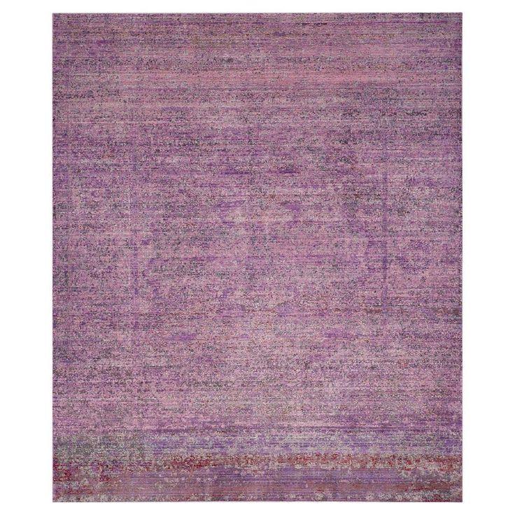 Safavieh Sacha Area Rug - Lavander / Multi (8' X 10'), Purple
