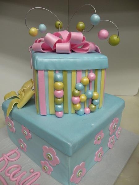 Sweet 16 Pastel Cake