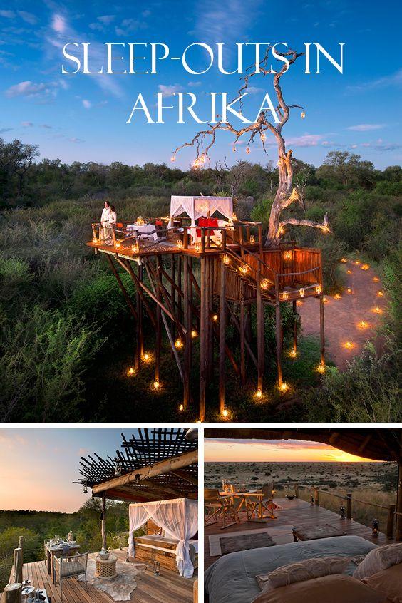 SLEEP-OUTS IN AFRIKA | Das wohl abenteuerlichste und romantischste Buscherlebnis