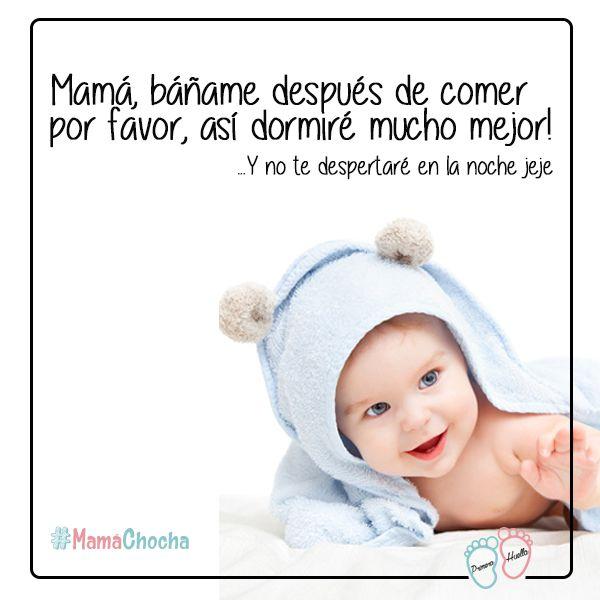 Es un consejo de tu bebé para ti, #MamáChocha!