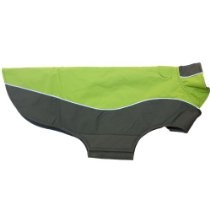 RC Pet Products Double Diamond Dog Coat, Size 24, Spring Green