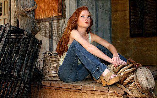 redhead heather carolin