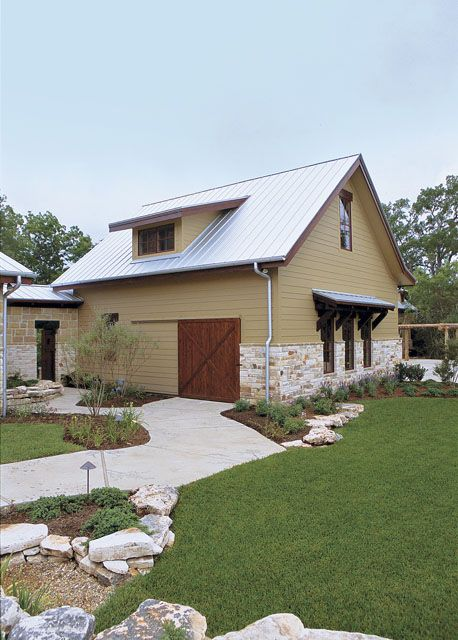 17 best images about garage ideas on pinterest pole barn for Barn guest house plans
