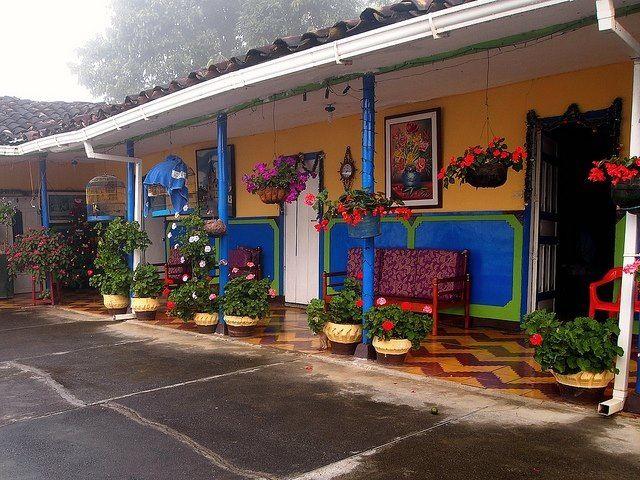 Casa campesina colombiana
