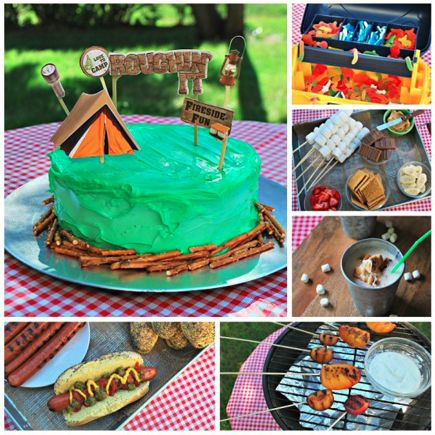 Picnic Party Ideas Camping PartiesBackyard