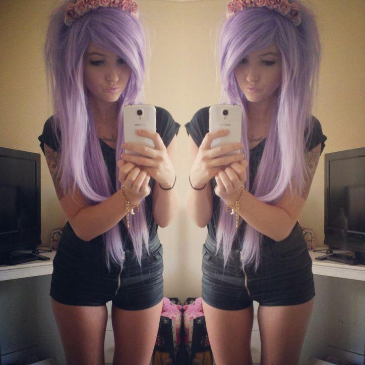 Loooooove lavender hair!