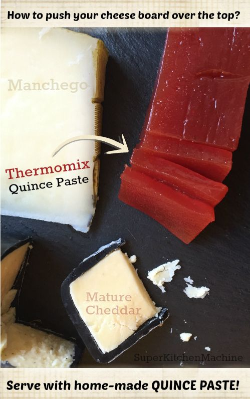 Home made #Thermomix quince paste with cheese