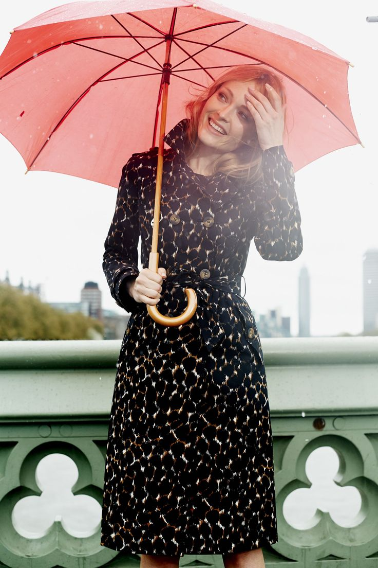British weather is no match for our terrific trench. Shop with 15% off and free delivery with code PIN1 (UK) or PIN2 (US) #Boden #AW14