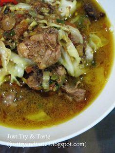 Just Try & Taste: Tongseng Ayam