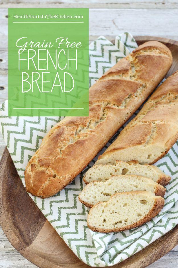 Paleo, Gluten & Grain-Free French Bread