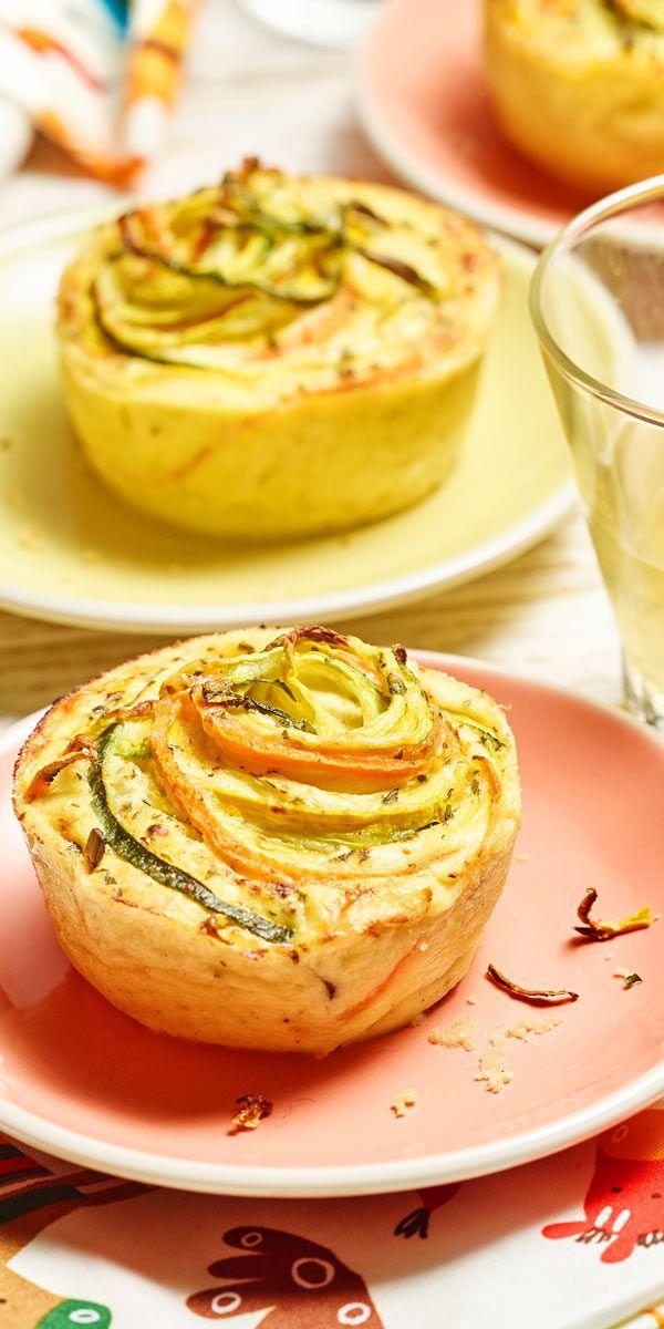 Zucchini karotten kuchen mit ol