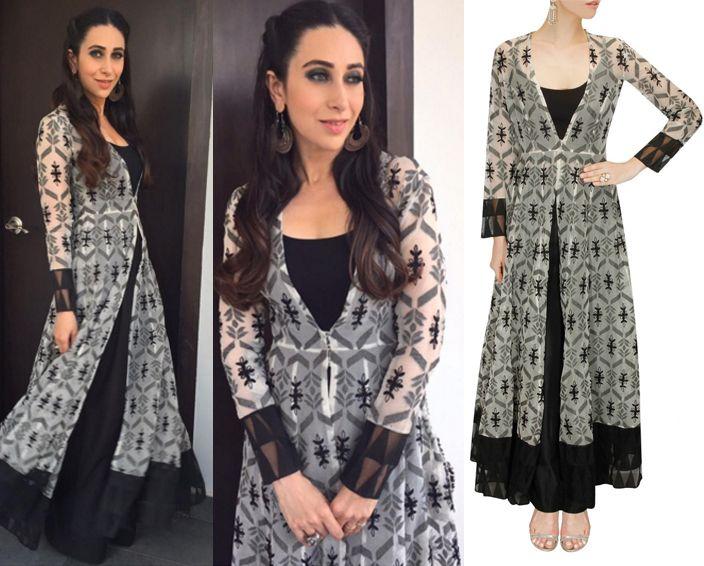 Karishma kapoor in Anita Dongre #perniaspopupshop #shopnow #celebritycloset #designer #clothing #accessories