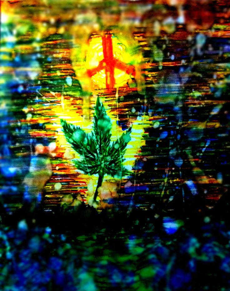 Ganja Leaf, Peace