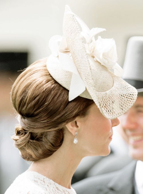 The Duchess of Cambridge attends day 2 of Royal Ascot at Ascot Racecourse on…