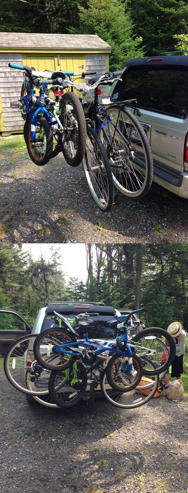 Follow the ULTIMATE fit guide for a bike rack that works best with your car! Chose from hundreds of models - whether you drive an SUV, Minivan, Truck or RV- you will find the right bike rack the first time. Great for biking getaways, family adventures and vacations.  http://www.etrailer.com/Bike-Rack