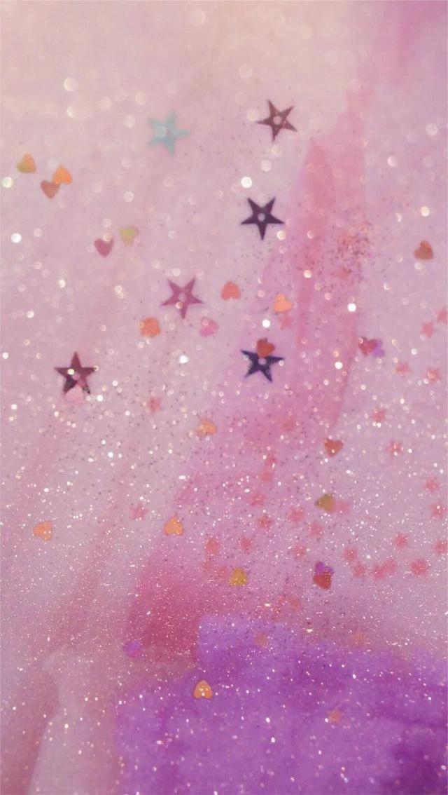 Aesthetic Wallpaper Glitter Wallpaper Colorful Wallpaper Cute Girl Wallpaper