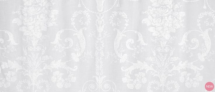 Josette Ready Made Voile Panel at Laura Ashley