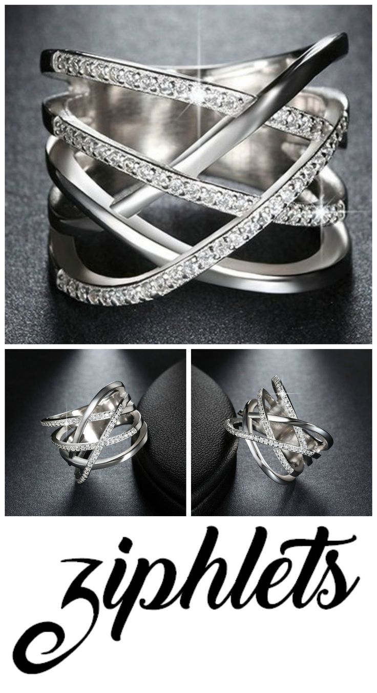 Ziphlets pave ring. Get 10% off with the code ZIPHLETS10