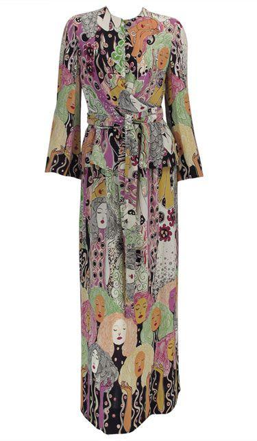 Rodrigues loves Gustav Klimt 1960s dress   My style