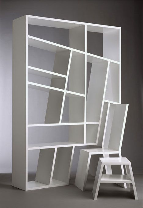 Charles Trevelyan:  Shelflife / quite clever for small spaces, better if it'd included a table