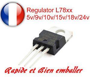 a l78xx serie positive voltage regulator ic 5v9v10v12v15v18v24v