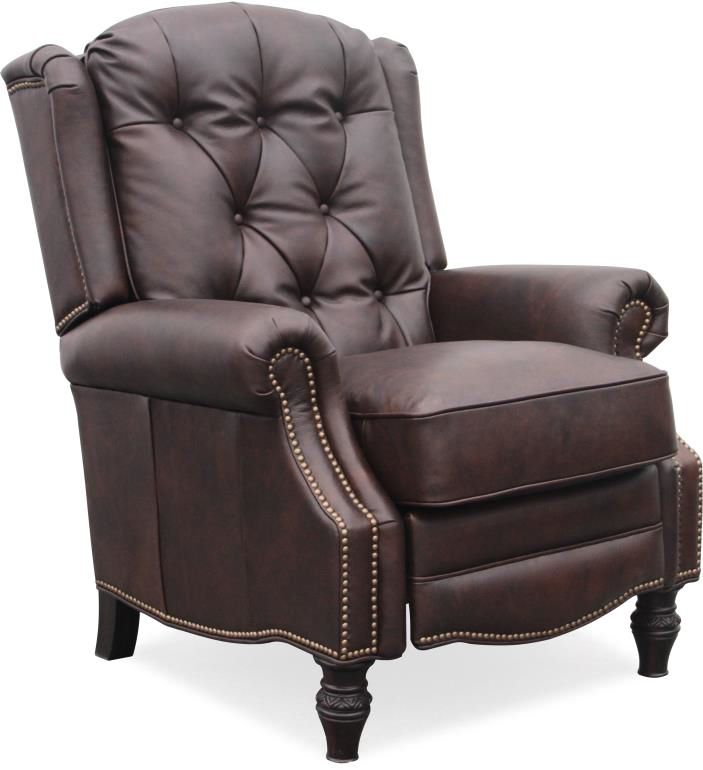 Barcalounger Darcy Recliner in Edmond Chocolate