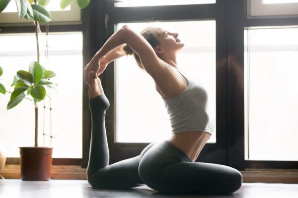 When you think of yoga, things like fun yoga pants and various poses may come to mind, but for one...