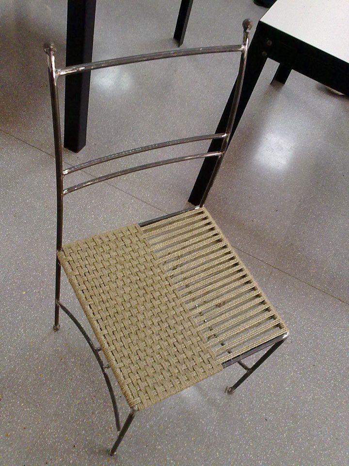 Cadira de ferro (3 passades llargues, 3 passades curtes)