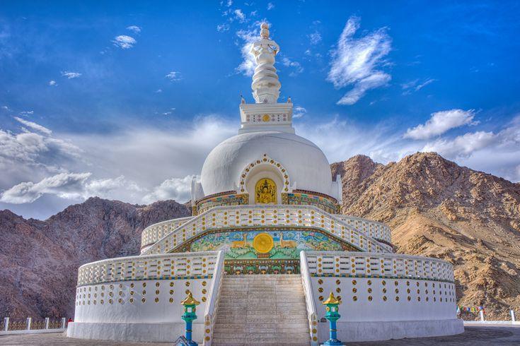 Shanti Stupa, Leh | by Susanna Chan