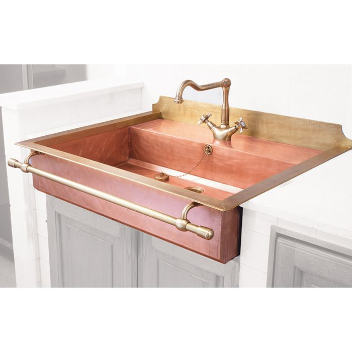 The most gorgeous copper sink textiles hardware pinterest copper minis and the o 39 jays Lavelli cucina in ceramica