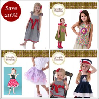 Bundle Pack: A-line, Scallopini Twirl Skirt, and Simply Sweet Tops & Dresses by CarlaC   YouCanMakeThis.com