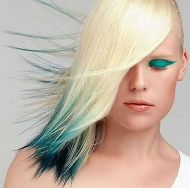 hair color ideas for medium length hair - Google Search  instead of that color do pink or purple!