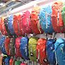 Here are a few packs, sleeping bags, and other gear highlights we spotted from Lowe Alpine, Mountain Equipment, Gregory, Backpacker's Pantry, Jetboil, The North Face, and more.