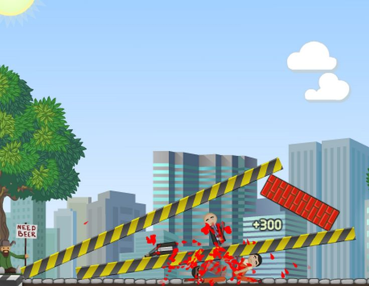 Have You Ever Played  What could possibly go wrong? Kill each person on each level by placing your bombs strategically on each structure. Demolish each building to ensure maximum carnage.  game?