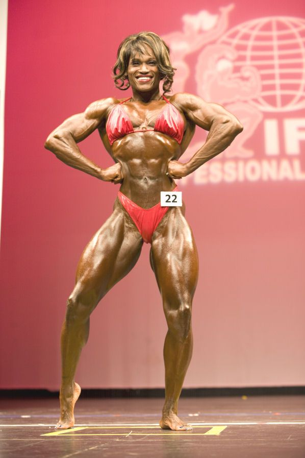 IFBB Professional League » 2009 New York Pro Women