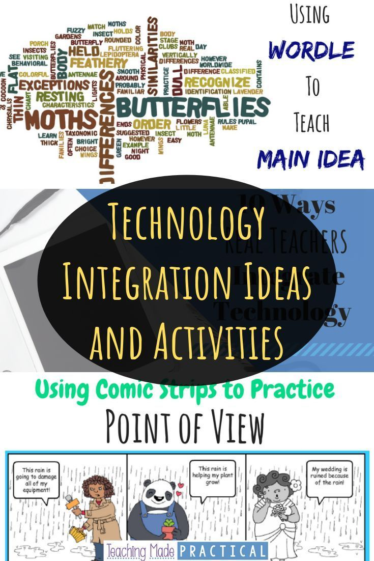 Low prep ideas for integrating technology into your upper elementary classroom.  Includes ideas and activities from real 3rd grade, 4th grade, and 5th…