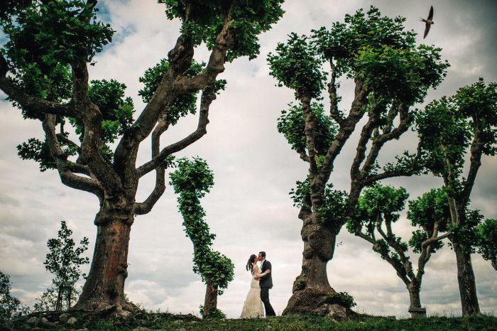 22 underbara bröllopsbilder som får oss att vilja packa väskan direkt