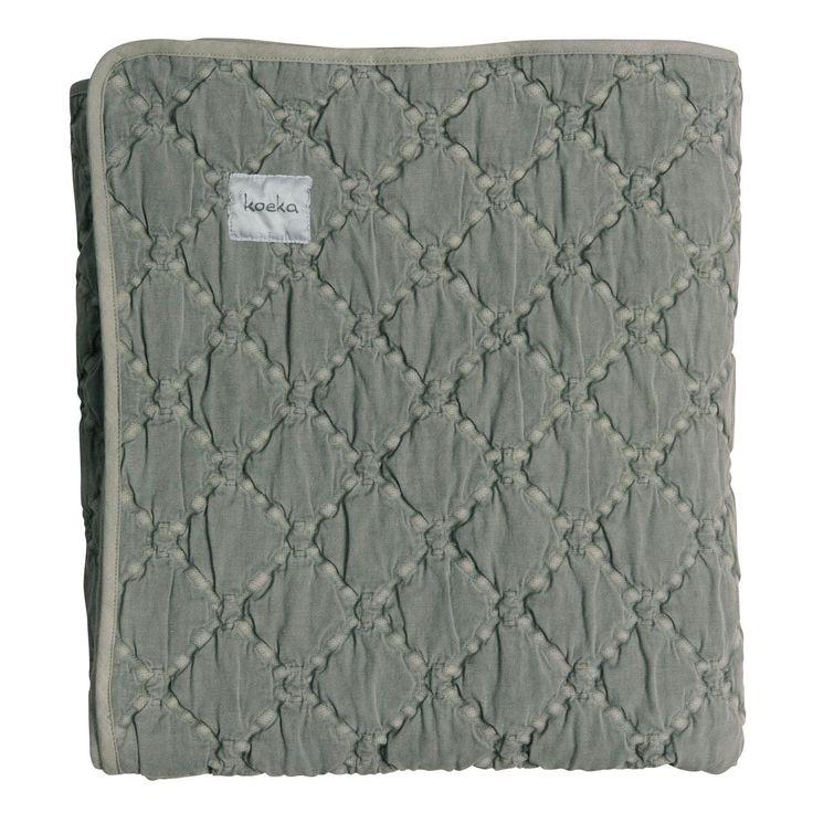 Koeka Deken York Dark Grey 140 x 200 cm