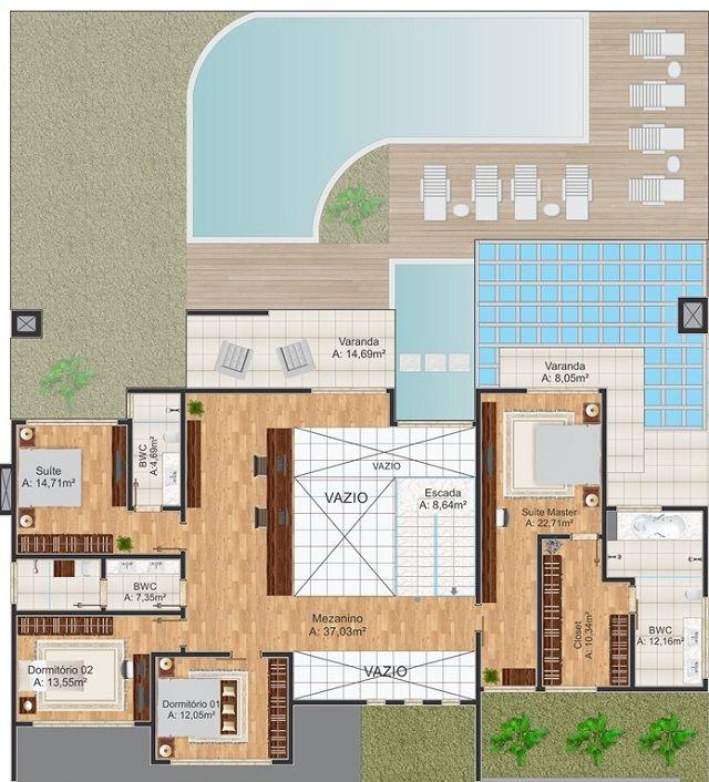 25 melhores ideias de plantas de casas gratis no for Planos de casas 5x25